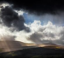 Sun Rays from Heaven by Heidi Stewart