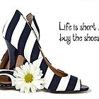 Bold Striped Shoes by Maria Dryfhout