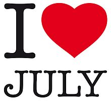 I ♥ JULY by eyesblau