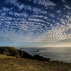 The Sun over the Gannet Rocks by NeilAlderney
