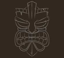 Tiki-Mask T-shirt by Josh Spacagna