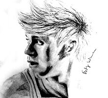 niall horan drawing by ewestermark