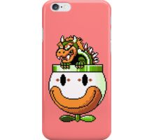 Bowser and Clown Copter iPhone Case/Skin