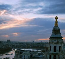 Sunset from St. Paul's by Mikayla McLean