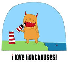 i love lighthouses! by inkletween