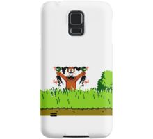 Duck Hunt Dog with 2 Ducks Samsung Galaxy Case/Skin