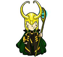 Loki, the trickster by Bantambb