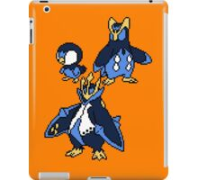 Piplup, Prinplup and Empoleon iPad Case/Skin