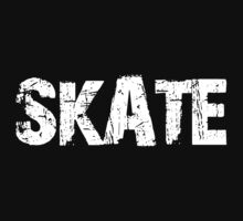 SKATE - OLD SCHOOL THROWBACK  by That T-Shirt Guy