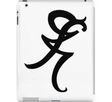 Mortal Instruments - Iratze - Healing Rune iPad Case/Skin