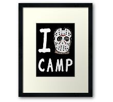 I Jason Camp Framed Print