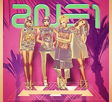 2NE1 Apparel, Poster & Sticker Design by Benikari47