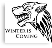 Game of Thrones - Unique House Stark Canvas Print