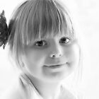Portrait in Black And White by Evita