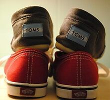 Vans and TOMS by daryaphilips