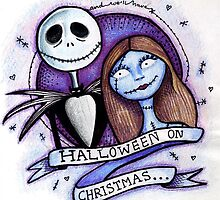 jack and sally by Meg Forrest