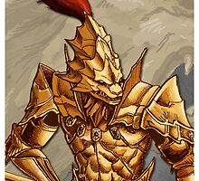 Dark Souls: Ornstein Solo case by MenasLG