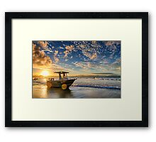 Sun Wheels Framed Print