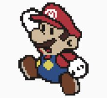 Pixelated Mario by mhykel