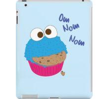 Cookie Monster Cupcake iPad Case/Skin
