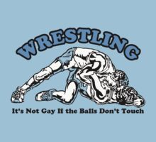 Wrestling - Gay Humor by romeotees
