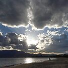 Howrah Beach sunrays - Hobart, Tasmania, Australia by PC1134