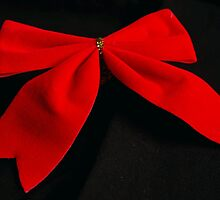 Red bow by AuraTodd