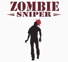 The Walking Dead - Zombie sniper by penguinua