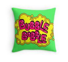 BubBob Arcade Throw Pillow