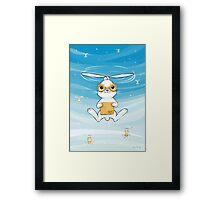 Postal Bunny Framed Print