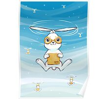 Postal Bunny Poster