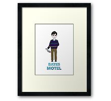Norman Bates Framed Print