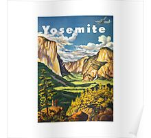 Yosemite Travel Poster