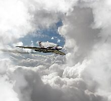 XH558 at Altitude by James Biggadike