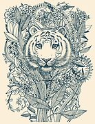 Tiger Tangle by micklyn