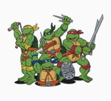 Ninja Turtles  by EssexGal