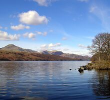 Coniston Water, English Lake District. by velo