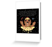 Royal Tart Toter (Adventure Time) Greeting Card