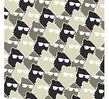 Wolf Wall - Mono by timewolf