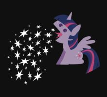 Princess Twilight Sparkle Star Vomit by MegnxNeko