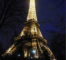 Eiffel Tower Lights by EssexGal