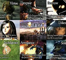 Final Fantasy IX Characters' Quote by nvir69