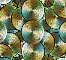 High-Tech Buttons Pattern by DFLCreative