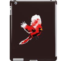 Painted Cardinal Design iPad Case/Skin