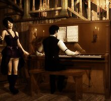 Saloon Serenade by DYoungDigital