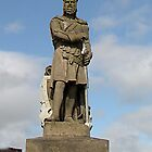 Robert The Bruce at Stirling Castle by Bev Pascoe