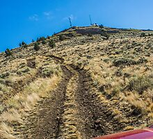 Yes it is just that steep. by rkboz