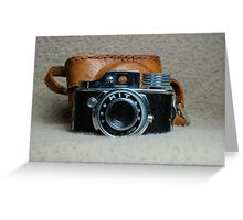 Vintage HIT Camera Greeting Card