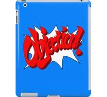 OBJECTION! iPad Case/Skin