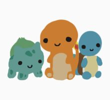 Pokemon Starters  by BrittanyPurcell